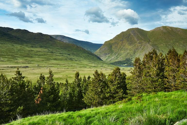 Paisajes del condado de Mayo, en Irlanda