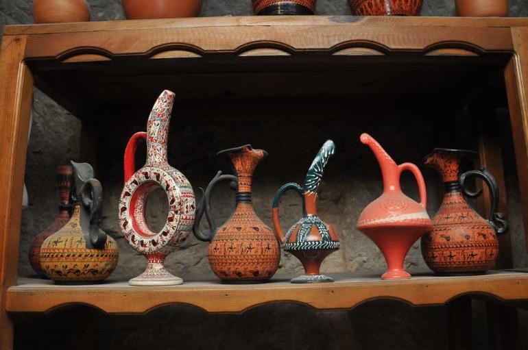 Artesanía típica de La Capadocia