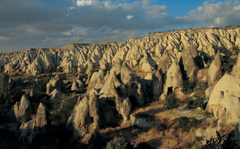 Las formaciones de la Capadocia son muy sorprendentes