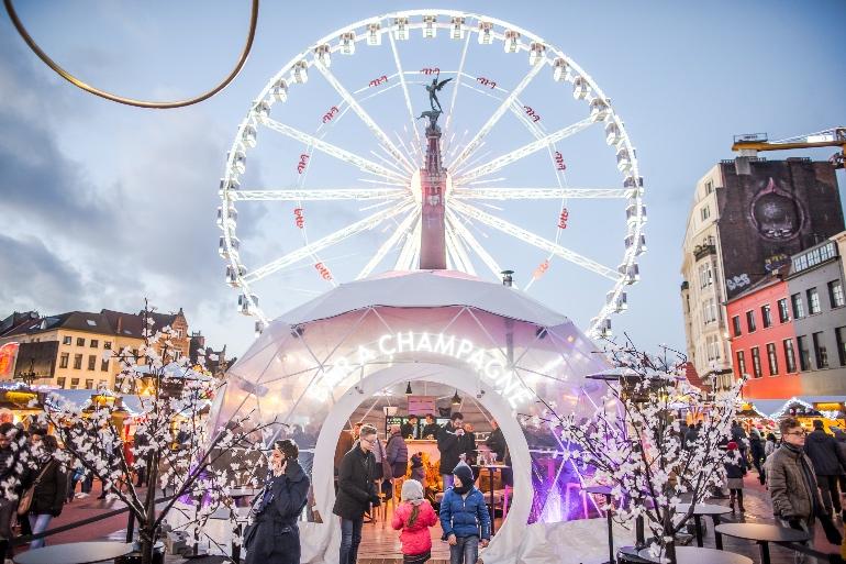 Mercado de Navidad en Bruselas © Eric Danhier