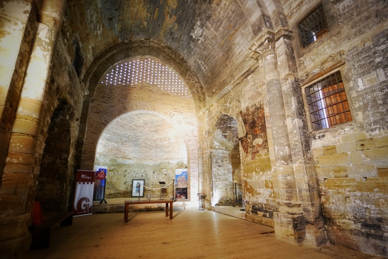 Interior del castillo de Gardeny