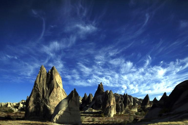 Los paisajes de La Capadocia son espectaculares