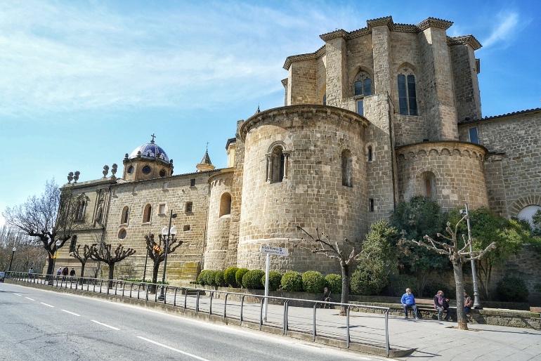 Ábside de la catedral de Solsona