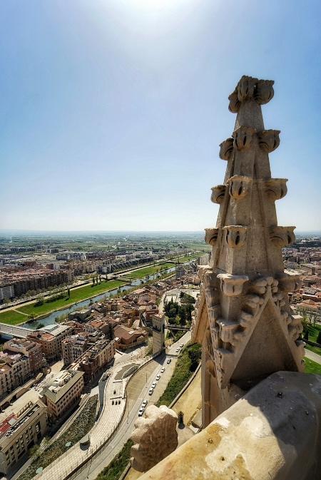 Vistas de Lleida desde el Campanario