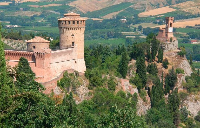 Torre del Reloj en Brisighella © Región Emilia Romaña