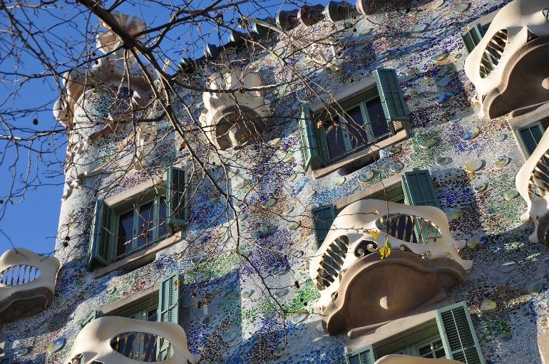 Fachada de la Casa Batlló