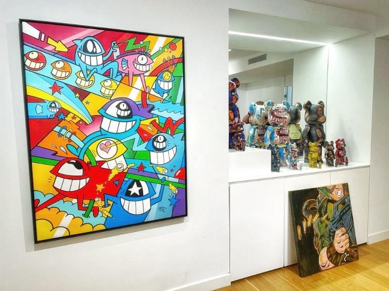 Galería de arte del Iberostar Grand Portals Nous