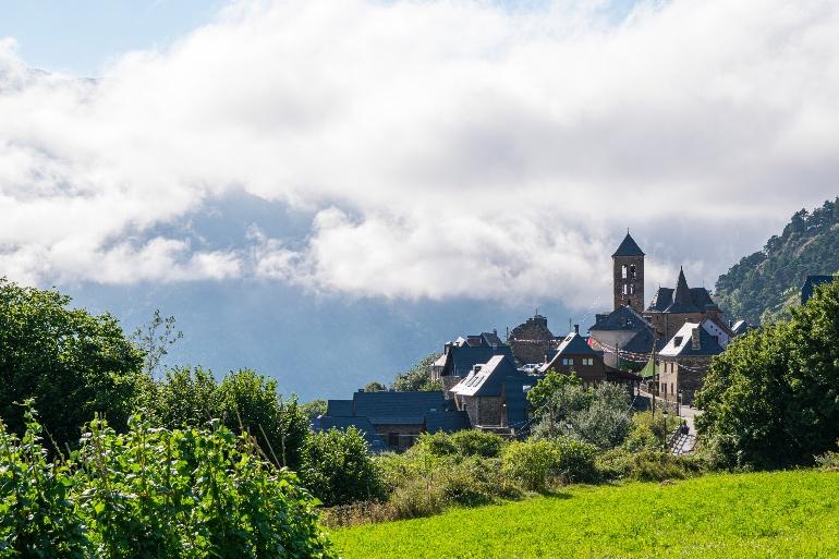 Dicen de Vilamós que es el pueblo más antiguo de la Val d'Aran © Val d'AranPhotos