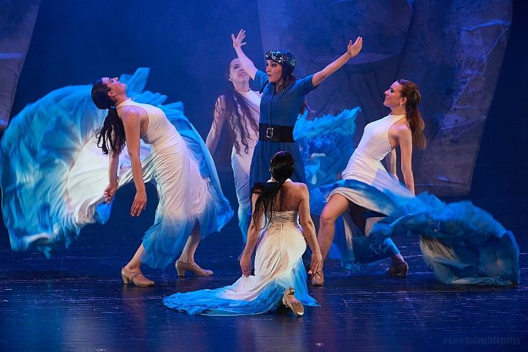 Espectáculo de Marea Danza de la edición del Festival Barruguet de Teatro Familiar de 2019