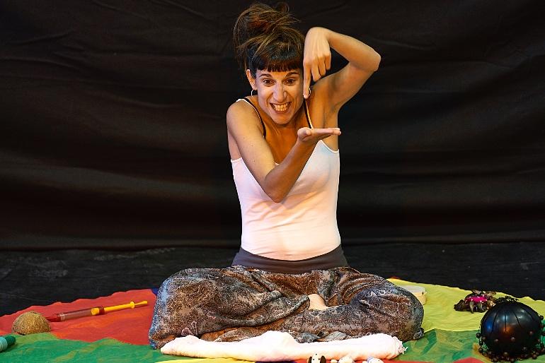Xenia Fuertes también actuó en el Festival Barruguet de Teatro Familiar de 2019