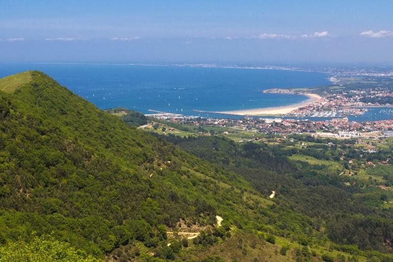 Monte Jaizkibel, el mirador de Hondarribia