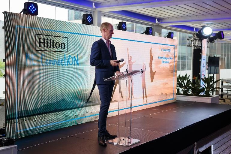 David Kelly (Vicepresidente Senior de Hilton Europa Continental)