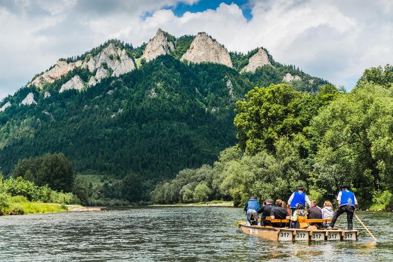 Bajada en balsa por el Parque Natural de los Pienines
