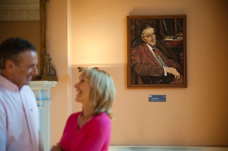Retrato de James Joyce