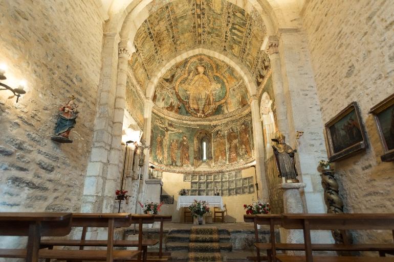 San Martín de Tours, en Gazeo. Foto Diputación Foral de Álava