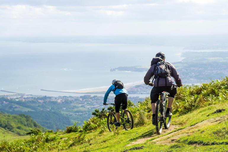 Hondarribia e Irun son perfectas para salidas en bicicleta