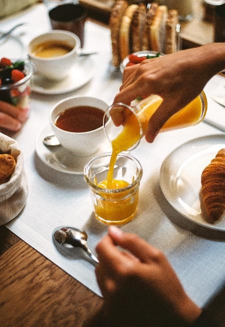 Desayuno del Hotel Neri