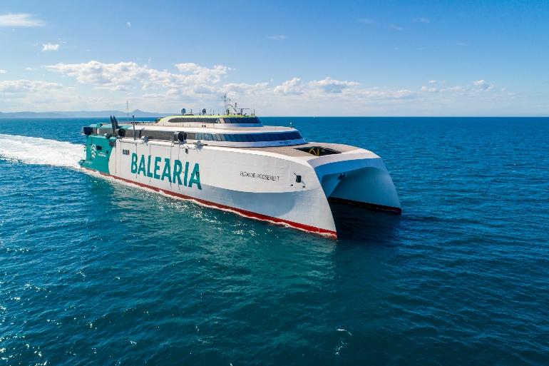 El Eleanor Roosevelt es el primer fast ferry del mundo con motores a gas natural