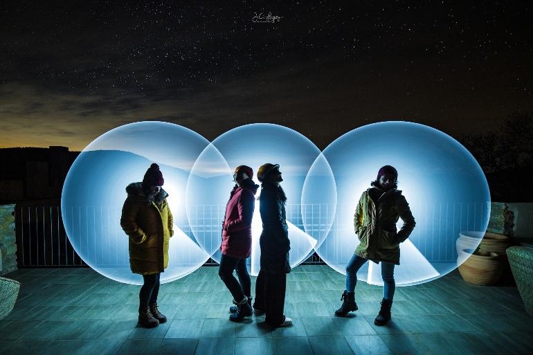 Pedazo fotón de Juan Carlos Leguey, miembro de Afonocte (asociación de fotógrafos nocturnos de España)