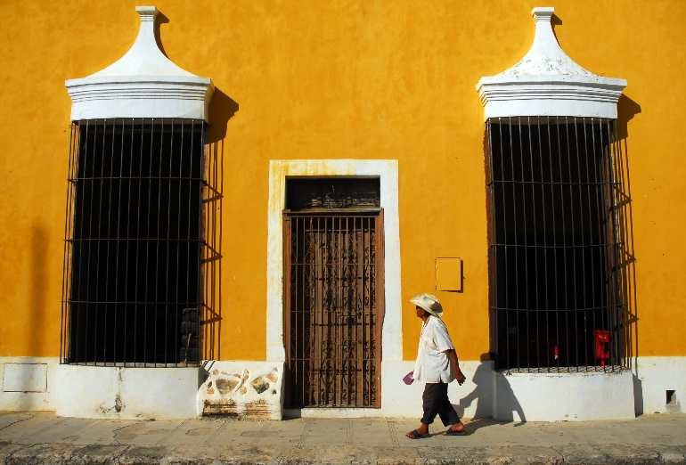 Casa amarilla de Izamal