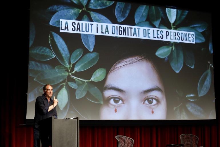Jordi Llopart, presentador del evento