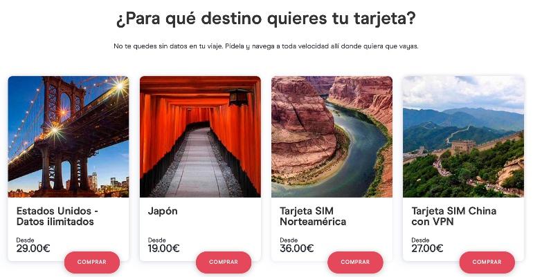 Holafly, internet en tus viajes
