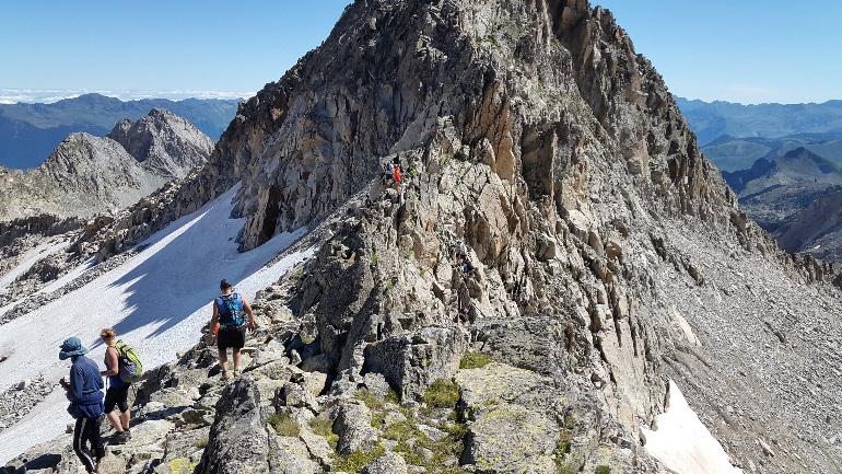 El tuc de Molières es el techo de la Val d'Aran