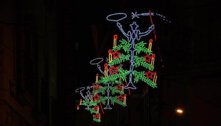 Luces de Navidad de Figueres © Àngel Reynal
