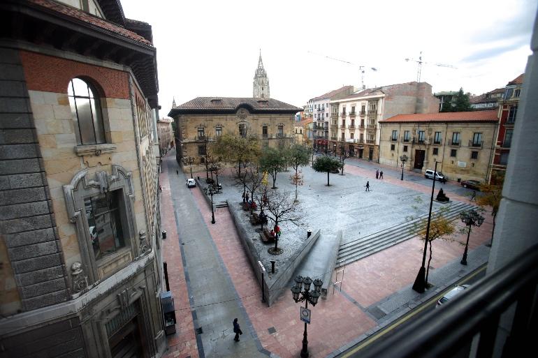 Plaza de Porlier de Oviedo. Foto Pablo Lorenzana