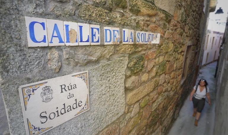 Callejones del centro histórico de Muros