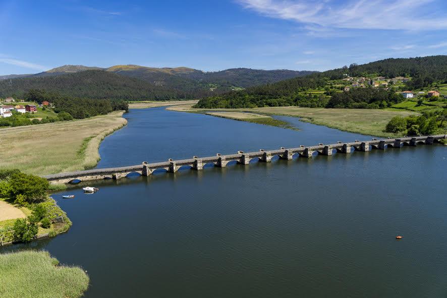 Pontenafonso es un puente medieval del siglo XII