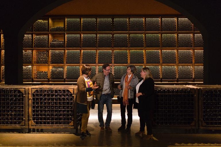 El vino y la gastronomía van de la mano en La Rioja Alta